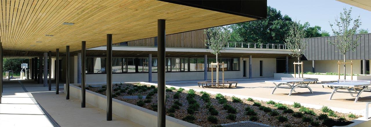 Coll ge danielle mitterrand hubert architecture - Office du tourisme saint paul les dax ...